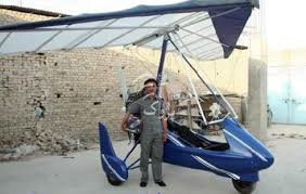ساخت نخستین هواپیما در افغانستان توسط یک شهروند جاغوری