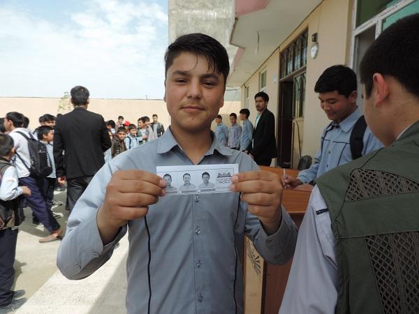 انتخابات شورای دانش آموزی لیسه خصوصی رضوان برگزار شد.